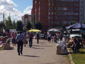 ロシアの市場