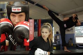Wettkämpfer, Kickboxen in Wiener Neustadt, KICKBOXING4L&M