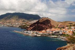 Blick auf die Marina Quinta do Lordes