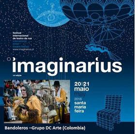 Bandoleros en Imaginarius Encuentro a cielo abierto Colombia – Portugal