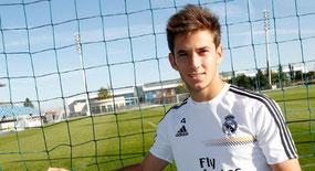 Álvaro Medrán, uno de los futbolistas a seguir en el futuro.