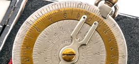 Regla de cálculo circular CHARPENTIER