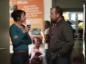 Valérie Bonneton et Olivier Gourmet (©Ad Vitam Distribution).