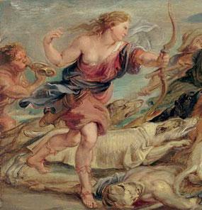 Quelle: www.khm.at: Kunsthistorisches Museum Wien:  Peter Paul Rubens - Die Jagd des Meleager und der Atalante