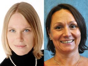 Christine Pahlow (links) und Ulrike Hente verstärken das Seminarkollegium.