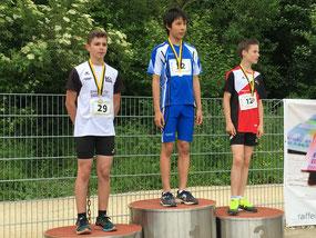 2. Platz im U14 M 5-Kampf, Dalibor Jovanhovic
