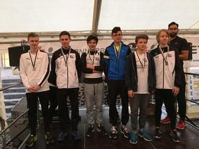 2. Platz U16 Männlich