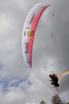 Foto: Martin Scheel - Landung in Abtenau