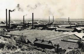 織布工場群