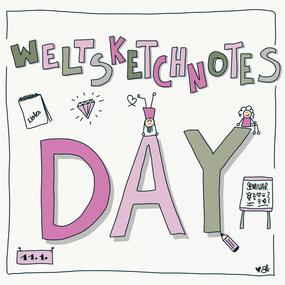 Weltsketchnotes day - Sketchnotes von Simone Abelmann