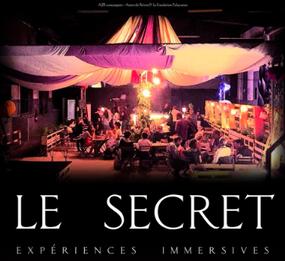 Le secret lieu éphémère dédié aux expériences immersives helsingor théatre immersif Paris théatre