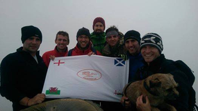 England, Scotland and Wales conquered whilst raising £1280.43