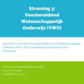 Overzicht Voorbereidend Wetenschappelijk Onderwijs in Nederland (WO)