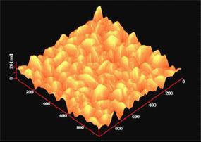 図7:電界質膜の表面