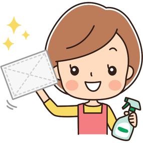かぶらぎ整骨院・整体院ブログ 花粉症予防のお掃除イメージイラスト