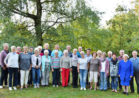 Gruppenfoto im September 2018