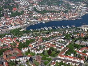 Luftbild Flensburg (Q: Wikipedia)