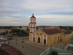 Eglise de San Juan Bautista, l'un des plus importantes églises de Cuba