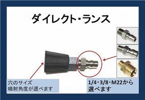 高圧洗浄機用 ノズルチップ