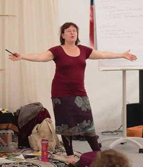 Susanne Solveigsdotter beim Motherroots Gathering 2018