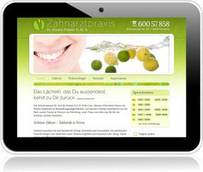 Homepage der Zahnarztpraxis Dr. Kerstin Polster in Nürnberg-West