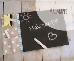 Malmappe Malen Tafelstoff unterwegs Kind Geschenk Geburtstag
