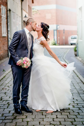 Hochzeit von Tanja & Gerrit auf dem Wasserturm in Lüneburg