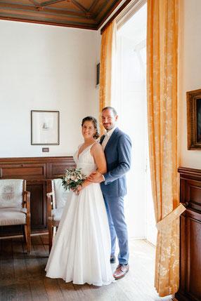 Brautpaar im Standesamt Lauenburg