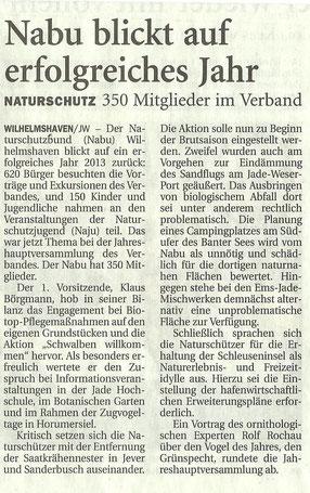 Jeversches Wochenblatt v. 25.3.14