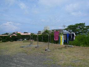洗濯物干場2