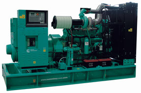 Non enclosed genset