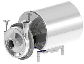 Monoblock Zentrifugalpumpe con CSF - Kreiselpumpe für hygienische Anwendungen, Lebensmittelindustrie