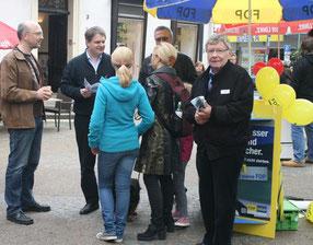 Viele Bürger haben neu den Weg zur FDP gefunden.