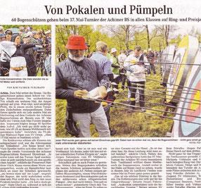 Quelle: Weserkurier  - Bild Anklicken für Artikel