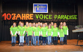 """Der Kinderchor """"Voice Paradise""""  2012"""