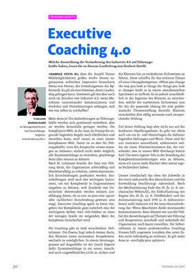 Executive Coaching 4.0