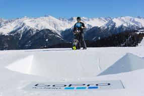 mit Freunden von TTR Snowboard, WSF Snowboard, New Austrian Snowboard Association, Air und Style,...