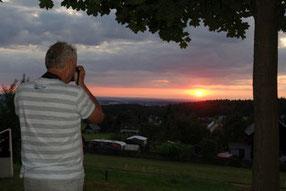 Kletterabend im Holzbachtal mit Sonnenuntergang, 01.08.2019
