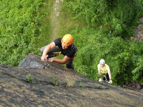 lohnende Klettersteige rund um das Vogtland