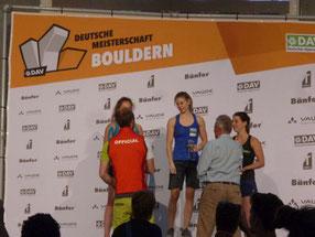Deutsche Meisterschaft Bouldern 2018  in Friedrichshafen zur OutDoor Messe,  20.06.2018