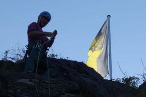 """""""eine gute Wahl"""", Klettern am Alten Söll in Schöneck, 22.07.2020"""