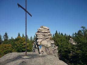 Klettern an den Greifensteinen im Erzgebirge, 30.09.2018