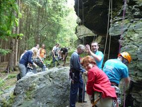 Mittwochstraining Klettern (Sommersaison)