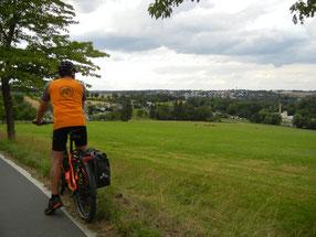 Radtour von Falkenstein nach Treuen am 25.07.2020