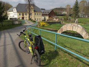 Göltzschtalradweg Lengenfeld - Mylau