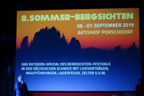 Sommer-Bergsichten und Klettern im Glasergrund, 07.09.2019