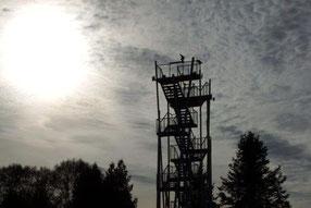 Neuer Aussichtsturm in Remtengrün / Vogtland