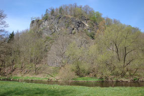 Klettergebiete im Vogtland, Thüringen und Bayern