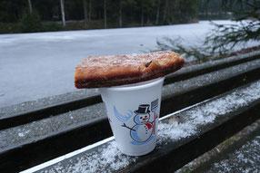 Radtour zur Meilerhütte, kleine Adventsgeschichte Teil 2