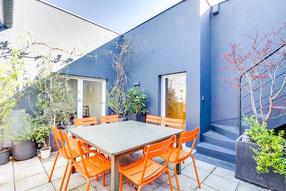 Aménagement d'une terrasse à Aix-en-Provence